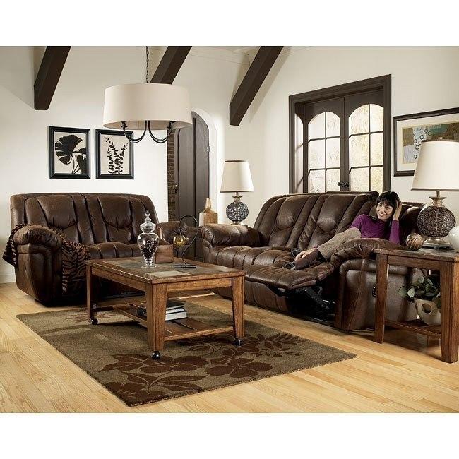 Blake - Walnut Reclining Living Room Set