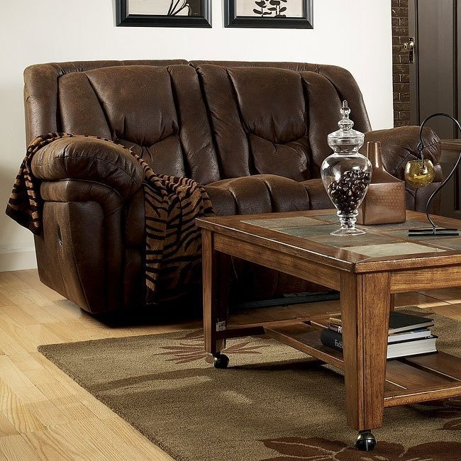 Blake - Walnut Reclining Loveseat