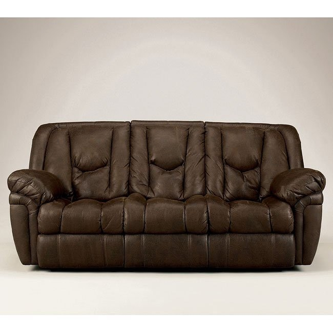 Blake - Walnut Reclining Sofa