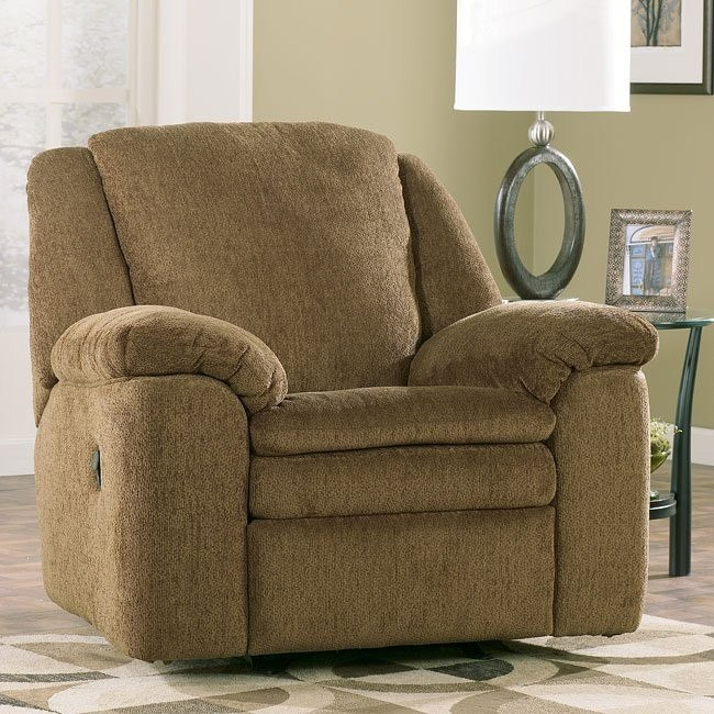 Rebel - Mocha Rocker Recliner