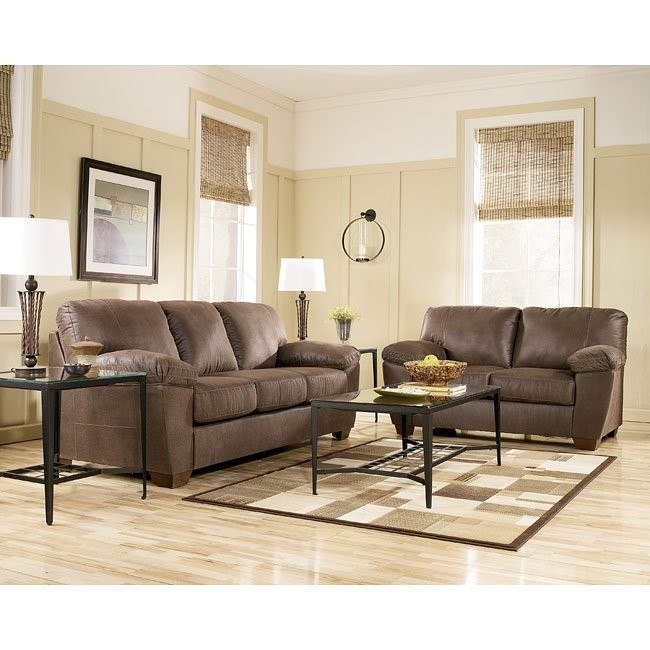 Amazon - Walnut Living Room Set