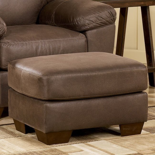 Amazon - Walnut Ottoman