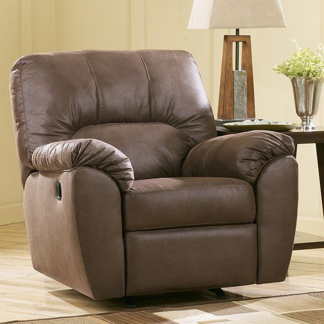 Amazon - Walnut Rocker Recliner