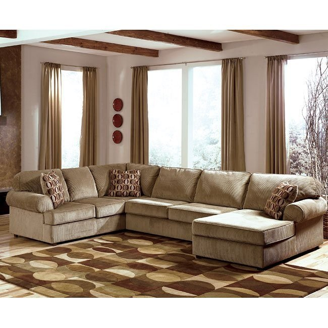Vista - Cappuccino Right Facing Chaise Sectional