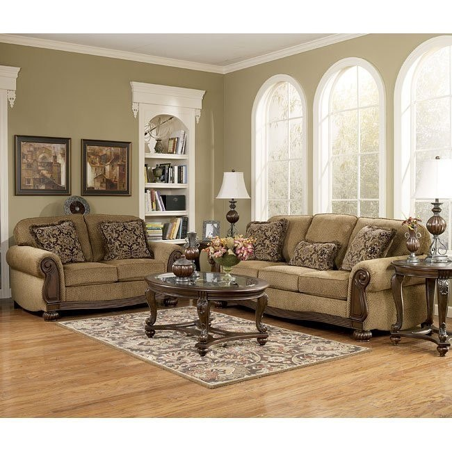 Lynnwood - Amber Living Room Set