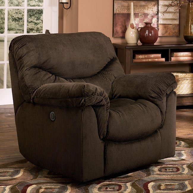 Motivation - Chocolate Rocker Recliner