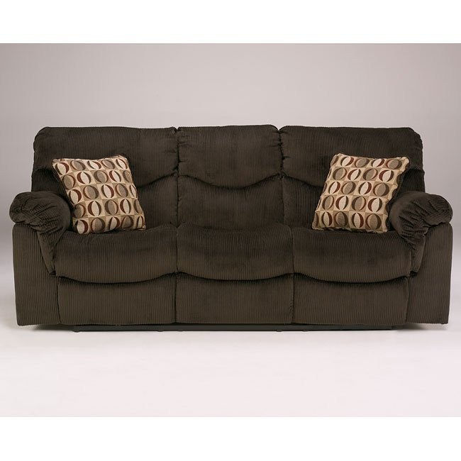 Motivation - Chocolate Reclining Sofa