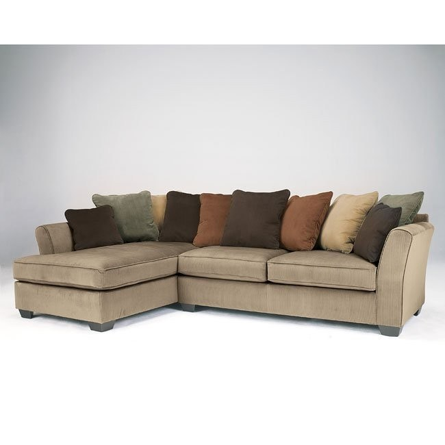 Cool Laken Mocha Sectional W Left Chaise Squirreltailoven Fun Painted Chair Ideas Images Squirreltailovenorg