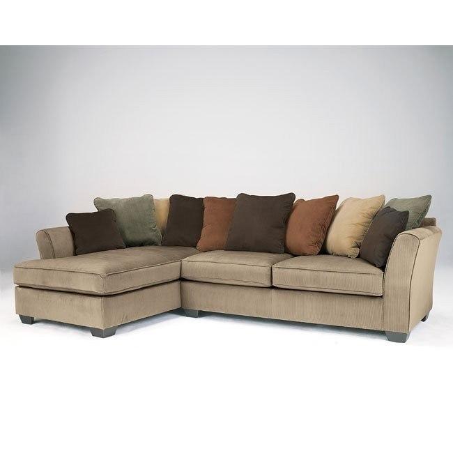 Marvelous Laken Mocha Sectional W Left Chaise Dailytribune Chair Design For Home Dailytribuneorg