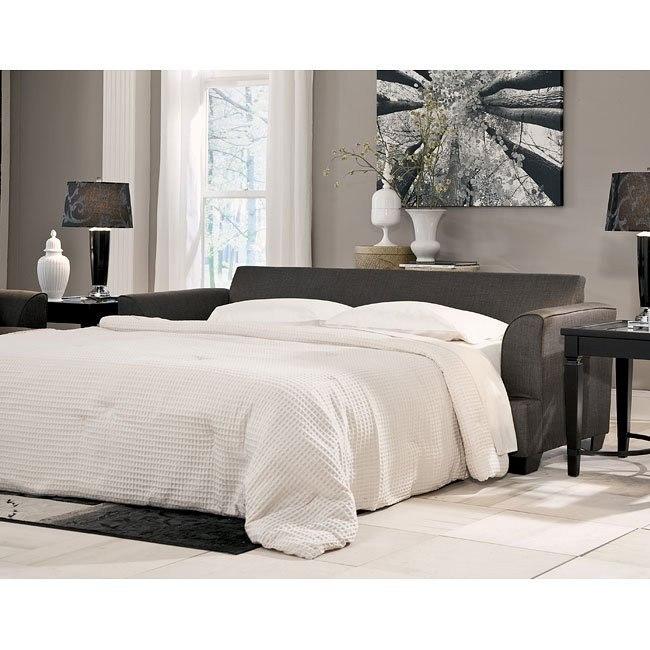 Levon Charcoal Queen Sofa Sleeper