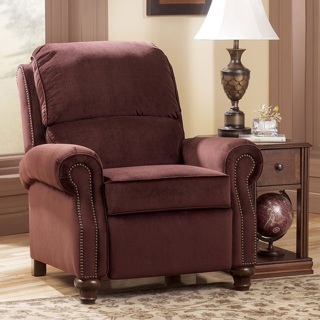 Hawkins - Cinnamon Low Leg Recliner