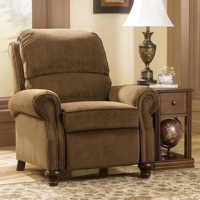 Hawkins - Pecan Low Leg Recliner