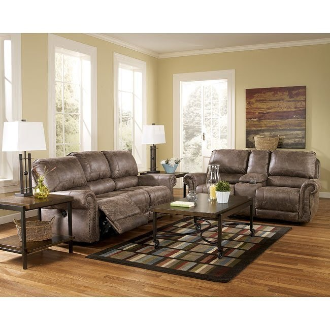 Oberson Gunsmoke Living Room Set w/ Power