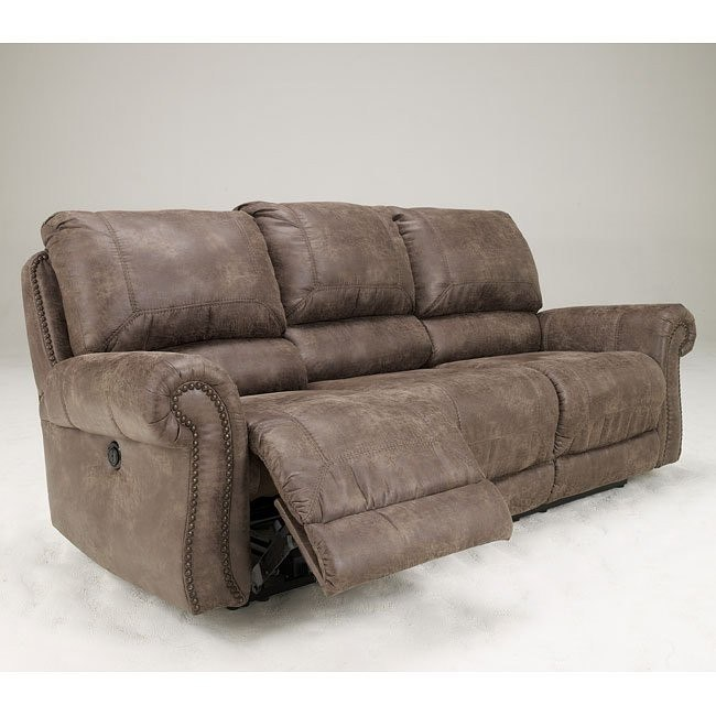 Oberson Gunsmoke Reclining Power Sofa