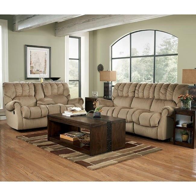 Sorrell - Mocha Reclining Living Room Set
