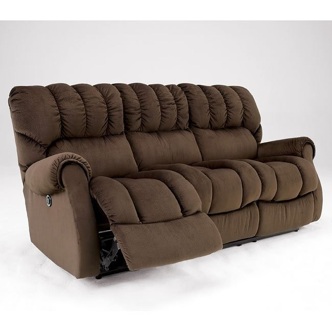 Sorrell - Java Reclining Sofa w/ Power