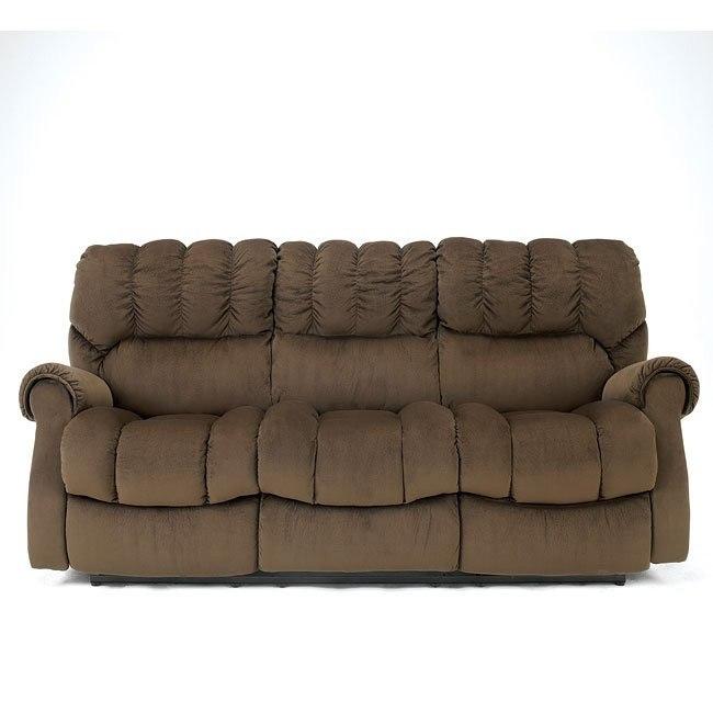 Sorrell - Java Reclining Sofa