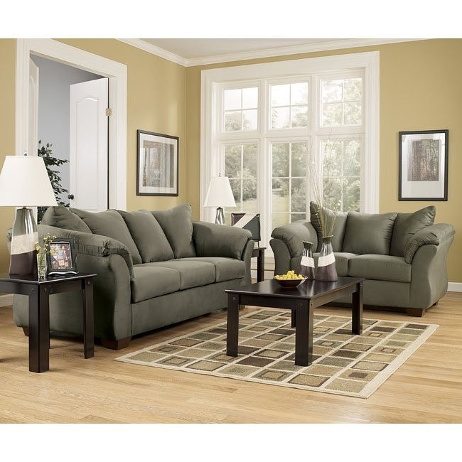 Darcy - Sage Living Room Set