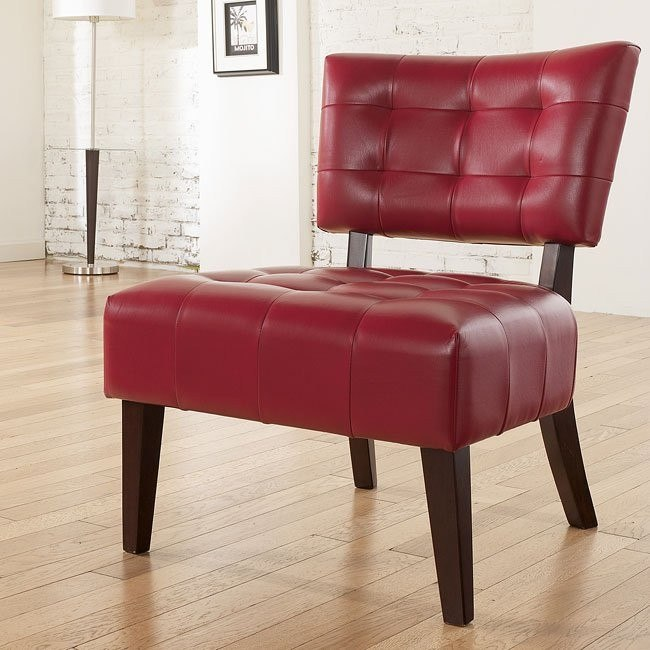 Matrix - Scarlett Showood Accent Chair