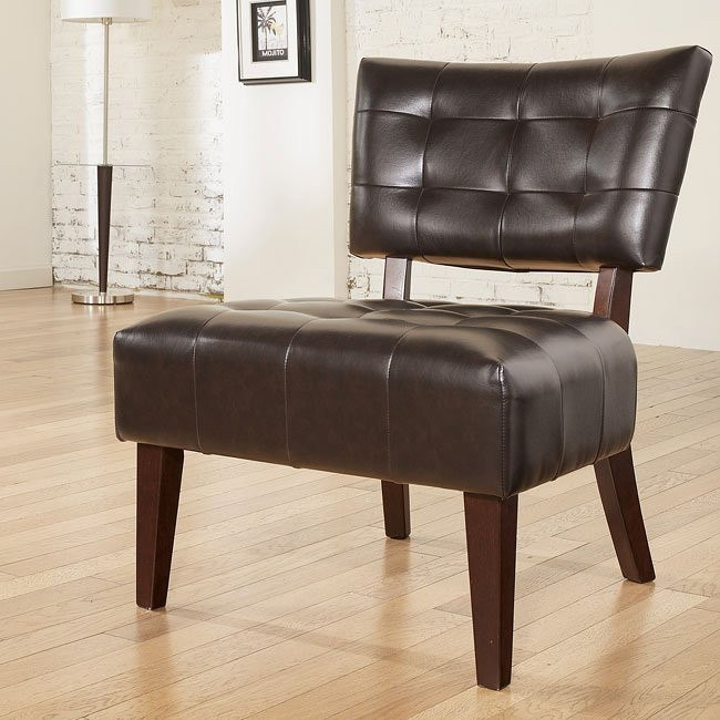 Matrix - Chocolate Showood Accent Chair