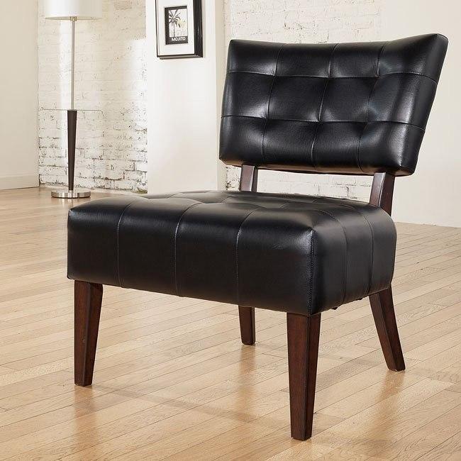 Matrix - Black Showood Accent Chair