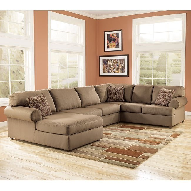 Brody - Mocha Left Facing Chaise Sectional