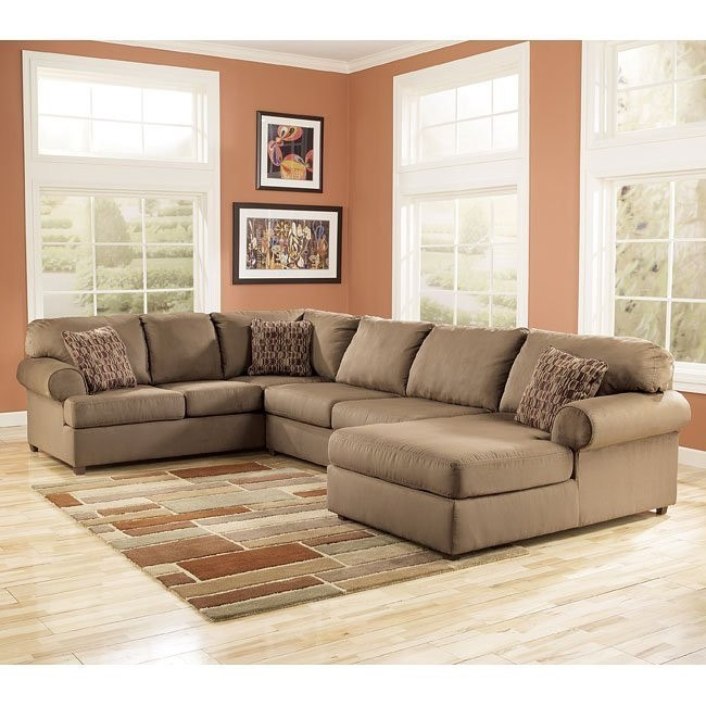 Brody - Mocha Right Facing Chaise Sectional