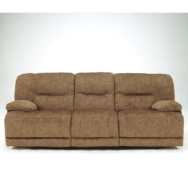 Gladiator - Nutmeg Reclining Sofa