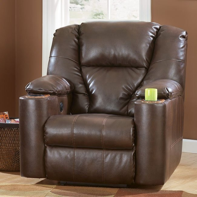 Paramount DuraBlend - Brindle Recliner w/ Power