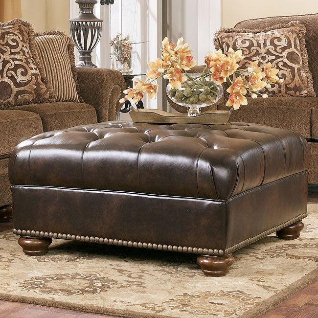 Presidio - Antique Accent Ottoman