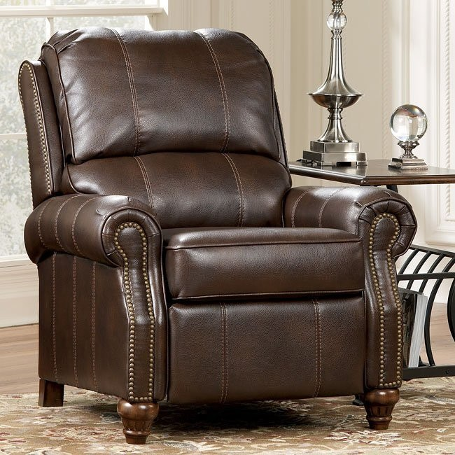 DuraBlend - Brindle Low Leg Recliner