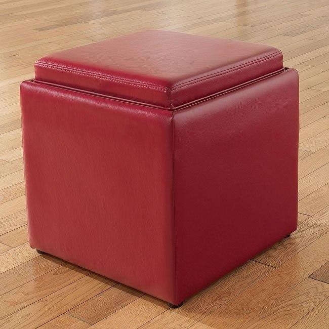 Cubit - Scarlett Ottoman w/ Flip Top (1 Cube Inside)