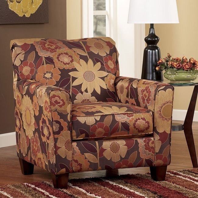 Gale - Russet Accent Chair