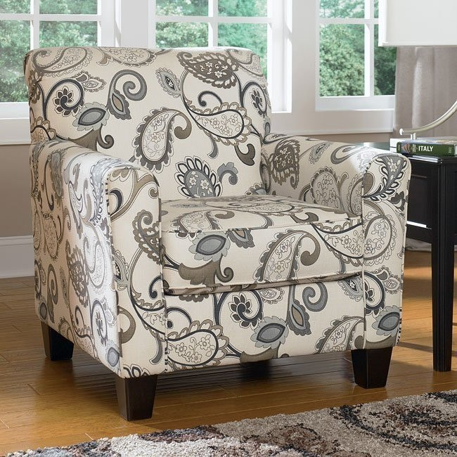 Yvette - Steel Accent Chair