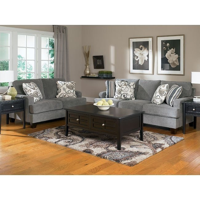 Yvette - Steel Living Room Set