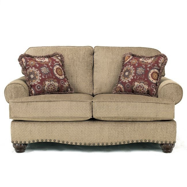 Martin Court - Caramel Loveseat