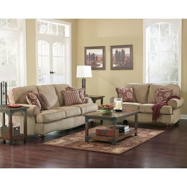 Martin Court - Caramel Living Room Set
