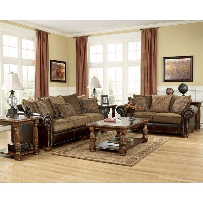 Briar Place - Antique Living Room Set