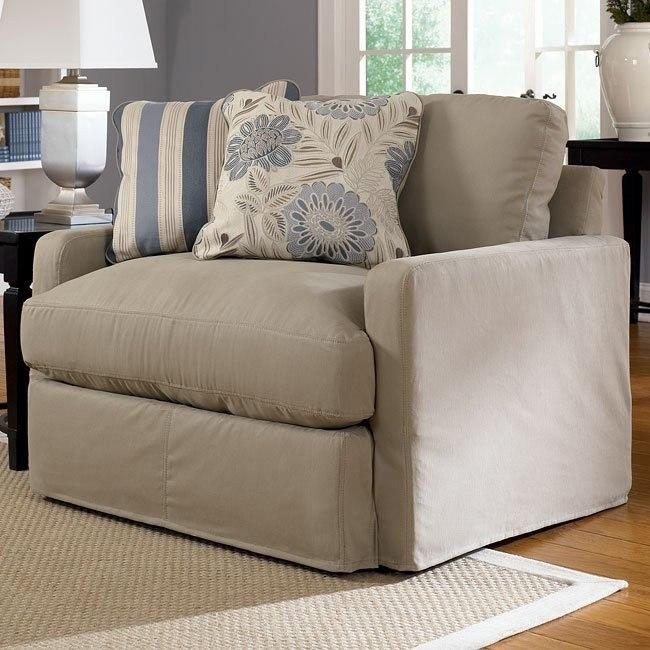 Addison - Khaki Chair and a Half