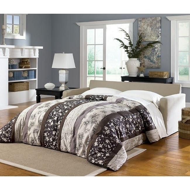 Addison - Khaki Queen Sofa Sleeper