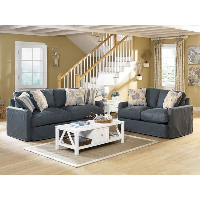 Addison - Slate Living Room Set
