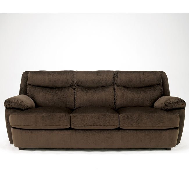 Crinkle Plush - Java Sofa