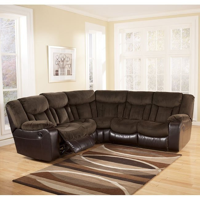 Tafton - Java Reclining Sectional
