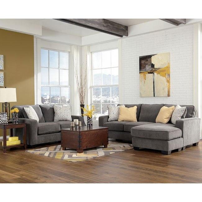 Hodan - Marble Living Room Set
