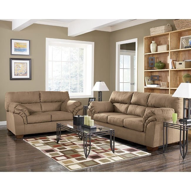Jupiter - Mocha Living Room Set