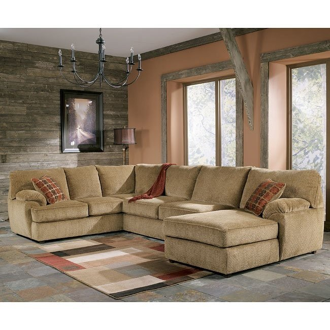 Bartlett - Caramel Right Facing Chaise Sectional