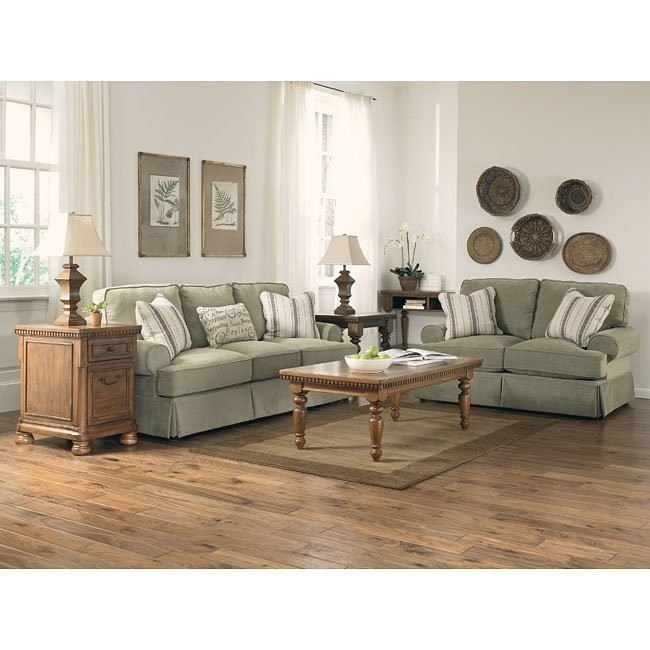 Aldridge - Sage Living Room Set
