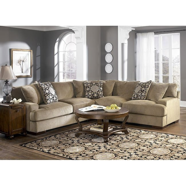 Grenada - Mocha Corner Sectional Set