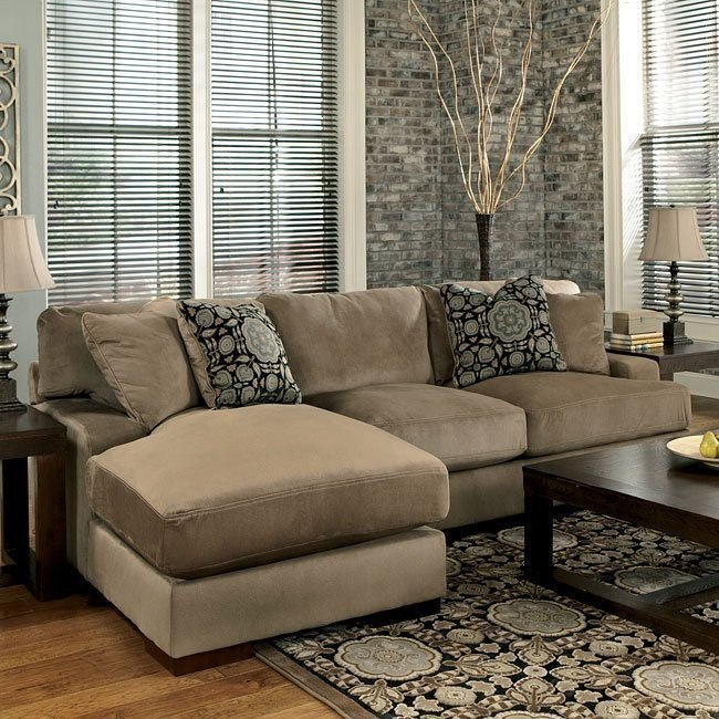Grenada - Mocha Left Chaise Small Sectional