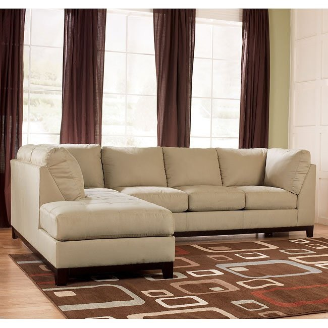 Fusion - Khaki Left Corner Chaise Sectional